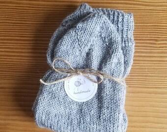 Stino socks; Wool socks; Handmade; Color, size to order; for women or men