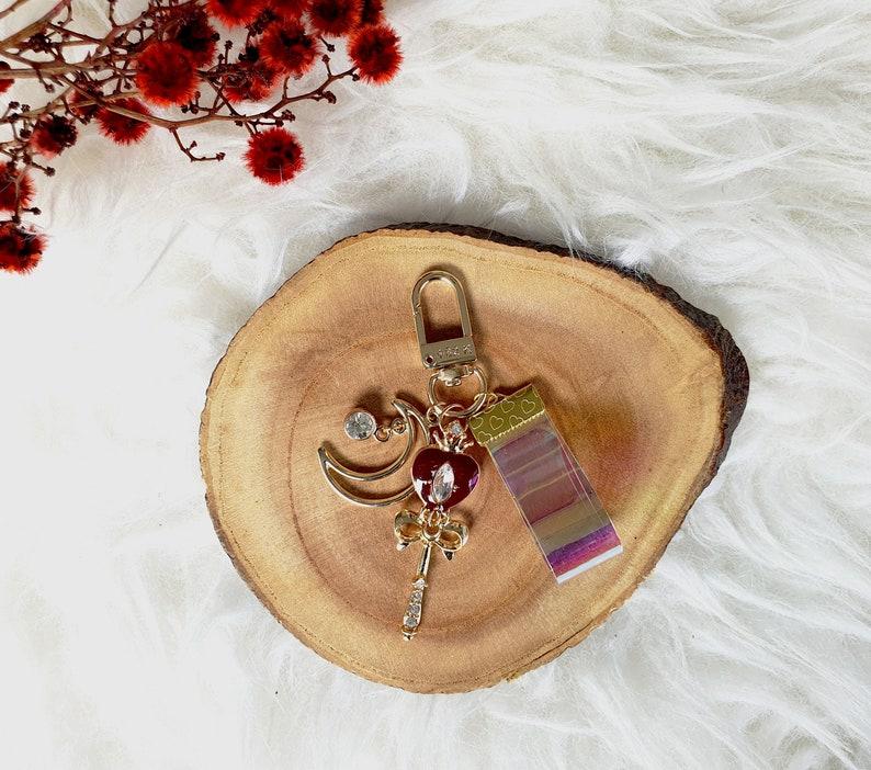 Stunning Sailor Moon key chain for airpod case