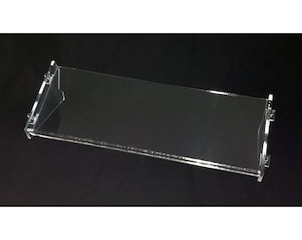 Acrylic Synth Stand Type1 single Tier for Korg Volca/Roland Boutique/Moog Mother, DFAM/Behringer Model D, K2, Pro One, Neutron/Other synths
