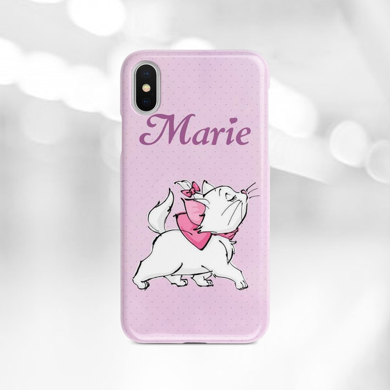 premium selection 5004f cb080 Inspired by Disney iPhone Xs Max case iPhone 7 8 plus case Marie iPhone X  Xs Xr case Aristacats Samsung S8 S9 plus Note 9 Galaxy S10 case SE