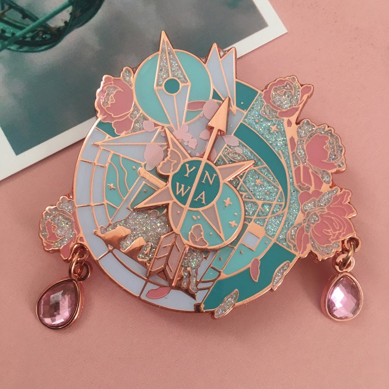 PRE-ORDER YNWA Compass Rose Gold image 0
