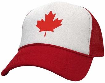 198646aa8 Canadian trucker hat | Etsy