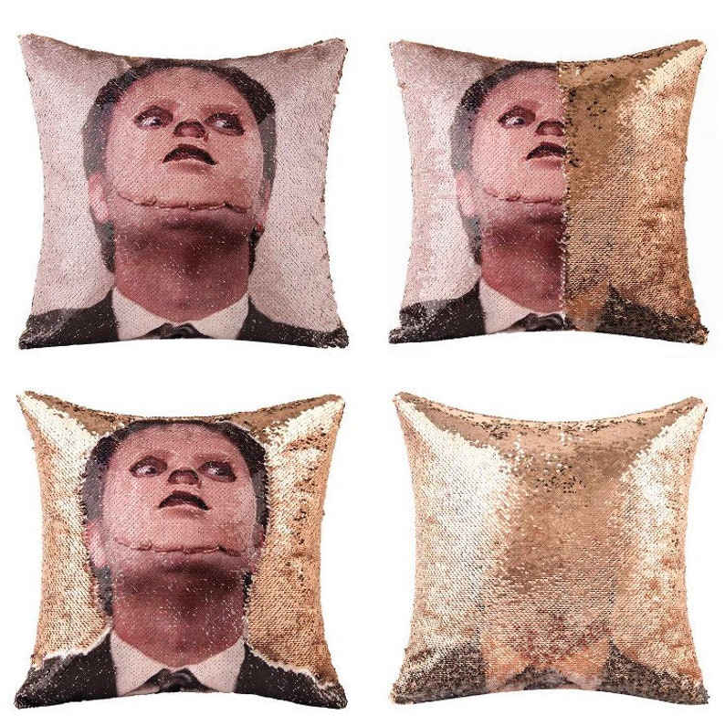 DWIGHT SCHRUTE  The Mask The Office Fan Sequin image 0
