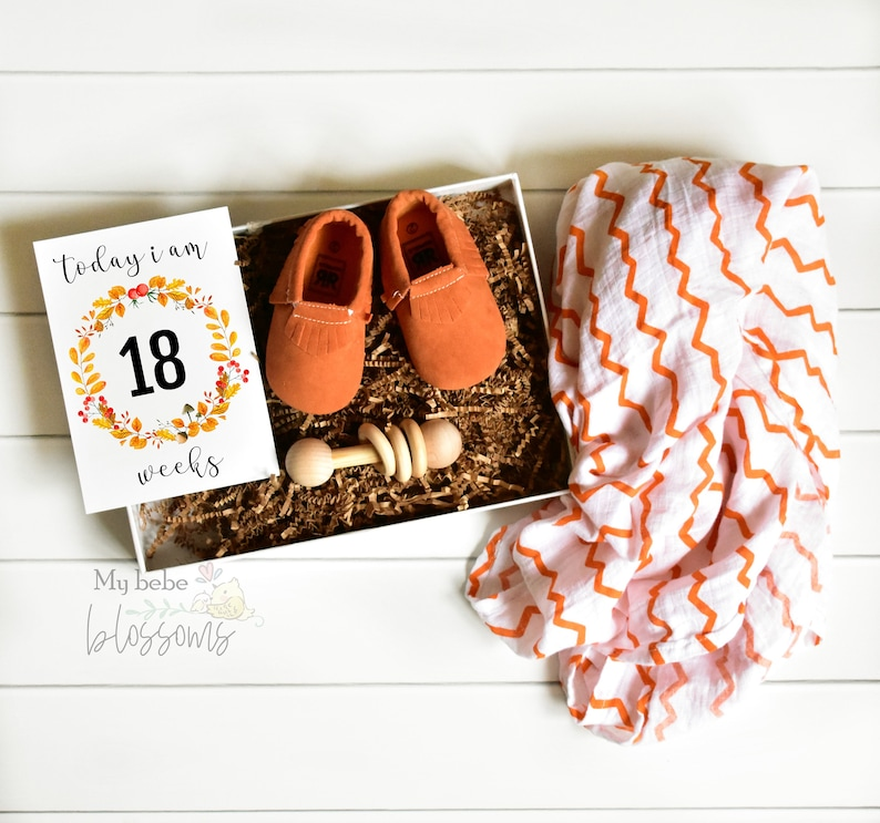 Baby Shower Gift Basket For New Mom image 0