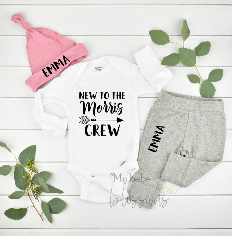 Newborn Girl Coming Home Outfit and Hospital Outfit image 0
