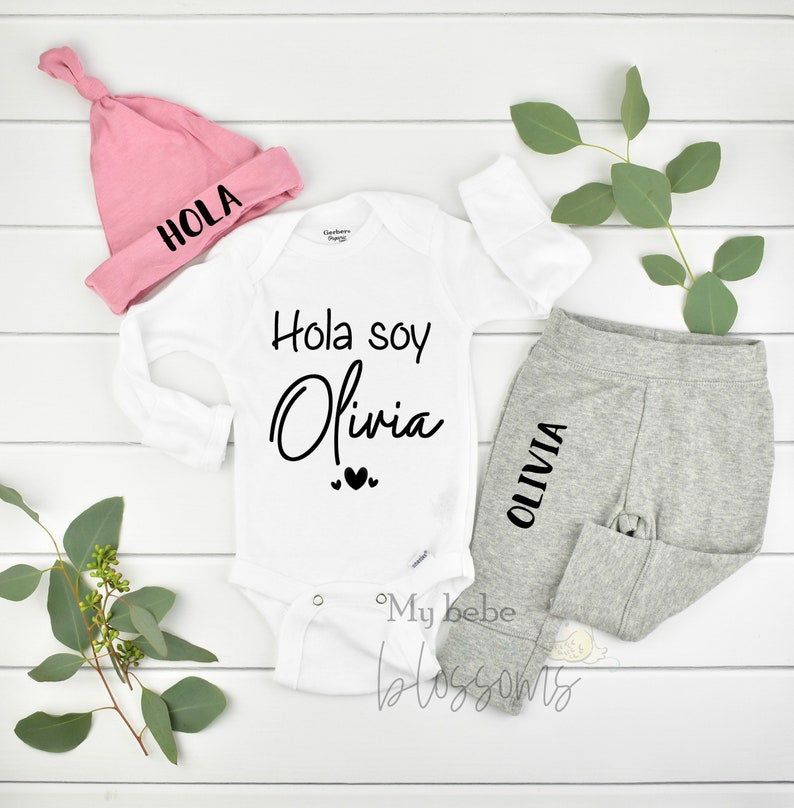 Spanish Coming Home Outfit and Hospital Outfit image 0