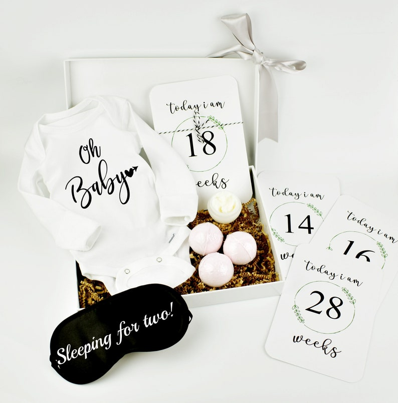 New Mom Gift  Personalized Baby Shower Gifts in a Box image 0
