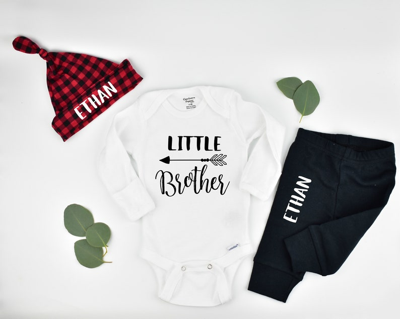 Baby Boy Coming Home Outfit and Hospital Outfit image 0