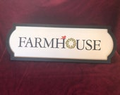Farmhouse Sign / Chalk Couture / Farmhouse Decor