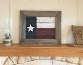 Texas Flag Pallet Sign