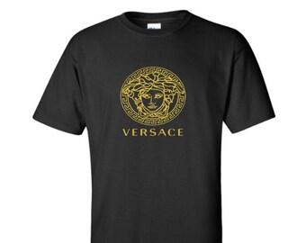 699e621c Versace T-shirt, Versace Medusa T-Shirt, Versace Inspired Unisex