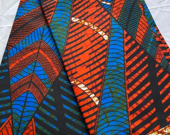 Soft Double sided Ankara Fabric by 6 Yards, African Fabric For Ankara Outfits - Colourful African Print Fabric - Ankara Interior Design