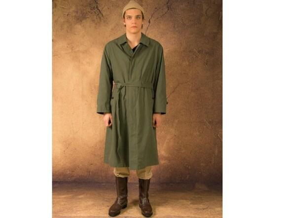 Men's classic khaki, padded coat from the 90s / me