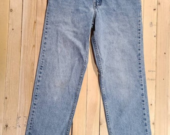 Silver Tab Jeans 90s Etsy