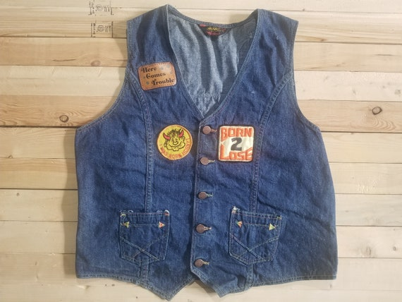 70's Wranglers Wrapid Transit Vest. Size Large. Pa