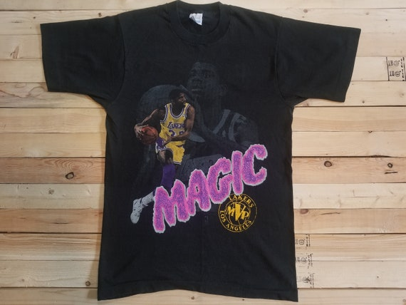 90's Magic Johnson Shirt. Salem Sportswear. Size M