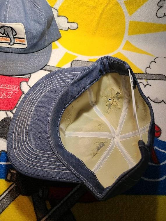 Elephant Brand Hat Lot Of 2. Denim. K Products. K… - image 8