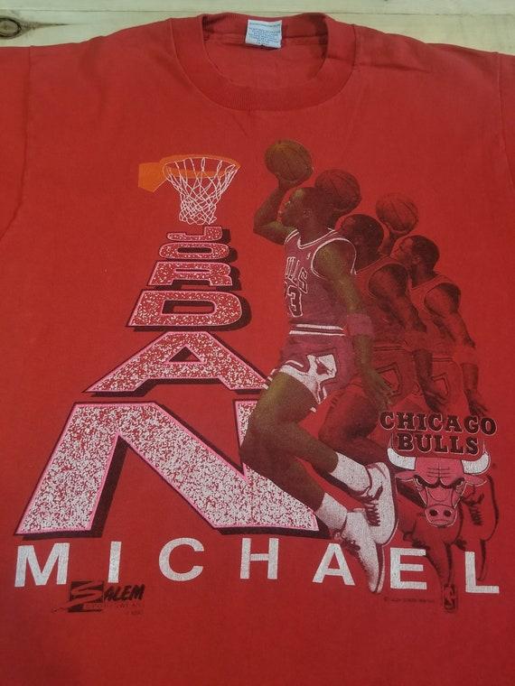 1990 Michael Jordan shirt. Salem Sportswear. Size