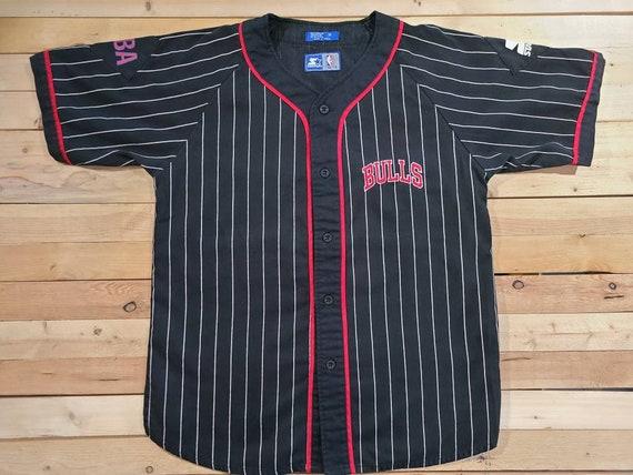 90's Chicago Bulls Starter Shirt. Jersey. Size Med