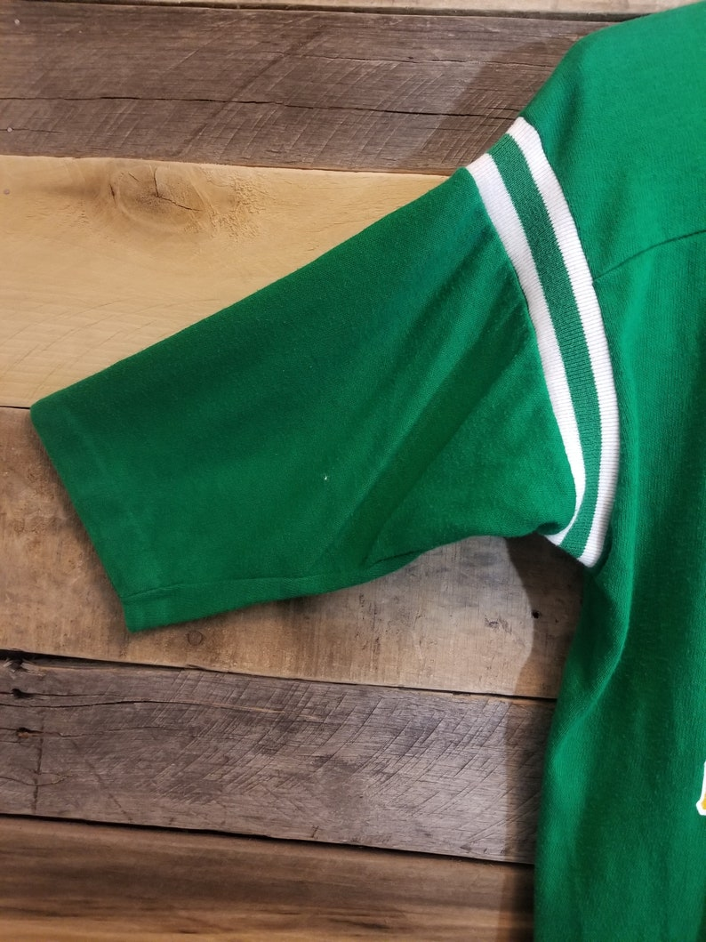 70s80s Notre Dame Fighting Irish Shirt. Size Large.