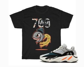 ae8597b9615d7 Solid Grey Yeezy Boost 700 Waverunner T-Shirt