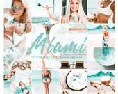 7 MIAMI Lightroom Mobile Presets, Beach Presets, Lightroom Mobile,LR Mobile Presets, Blogger Presets, Mobile Presets,Instagram, 58