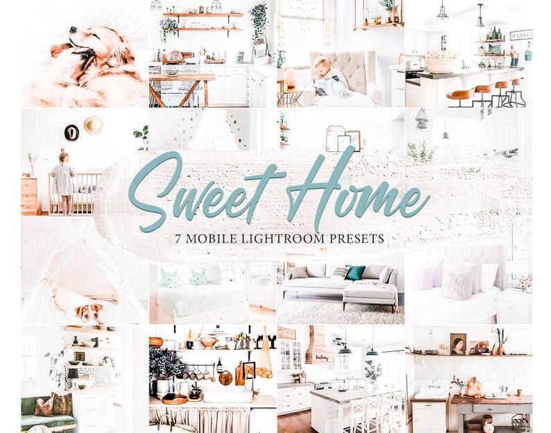 9 SWEET HOME Mobile Lightroom Presets Instagram Presets image 0