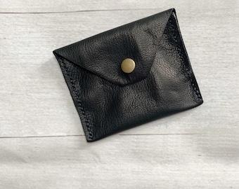 Leather Wallet, Card Wallet, Minimalist Wallet, Slim Wallet, Soft Leather Wallet