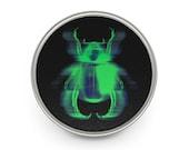 Carnal Insect Metal Pin