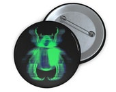 Carnal Insect Pin Button