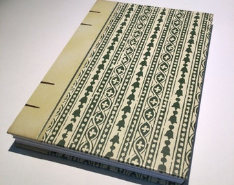 Open-Spine Handmade Notebook Journal (200 Pages)