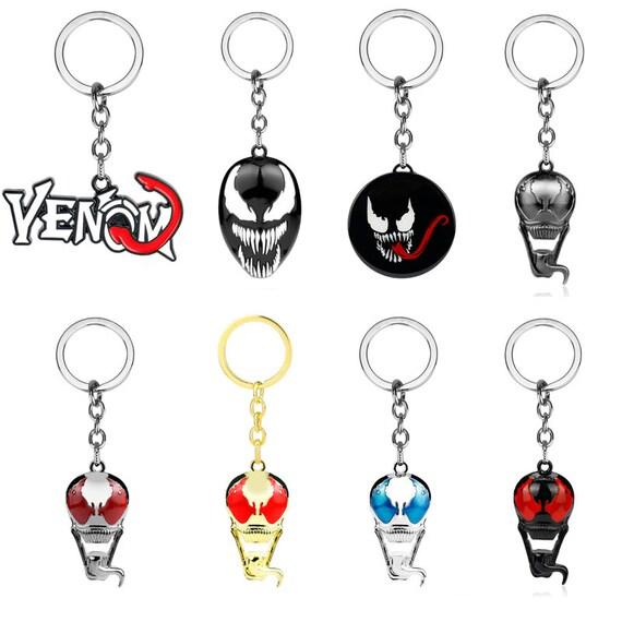 New Marvel Comics Superhero Venom Alloy Key Chains Keychain Keyfob Keyring