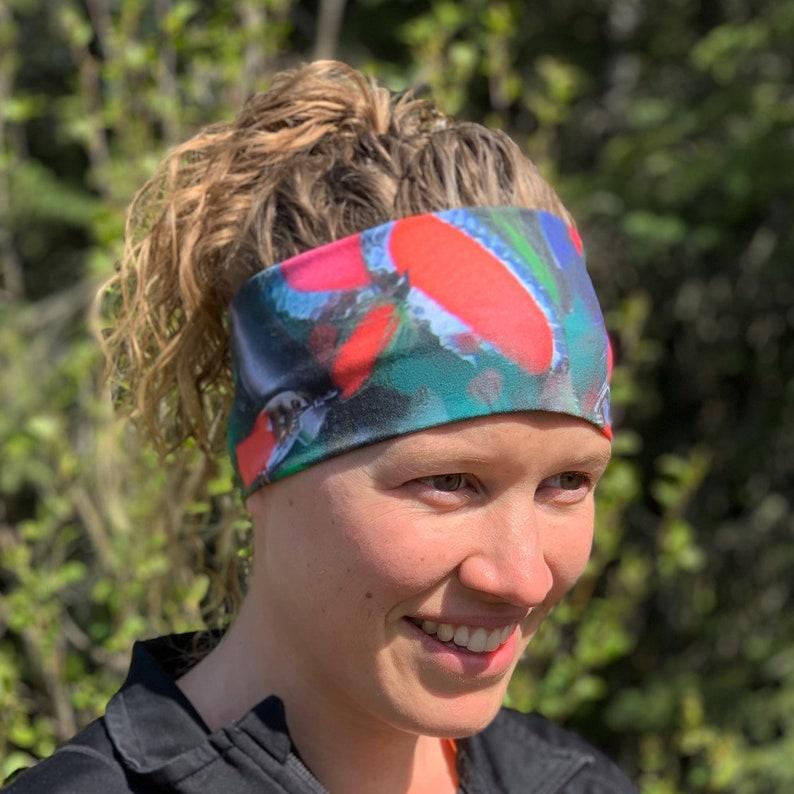 Fishing lure headband