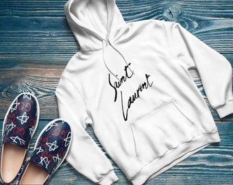 c7742472aa09 YSL hoodie Gucci Inspired YSL Hoodie Gucci Vintage oversized hoodie gucci  outfit T-Shirt Gucci Grey Sweatshirt gucci shirt unisex