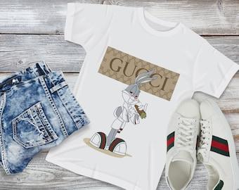1407da776 Gucci t-shirt Vintage Fashion sleeveless sweater Gucci gift tshirt Gucci  Fashion Style For Woman's love couple print Off-White T Shirt