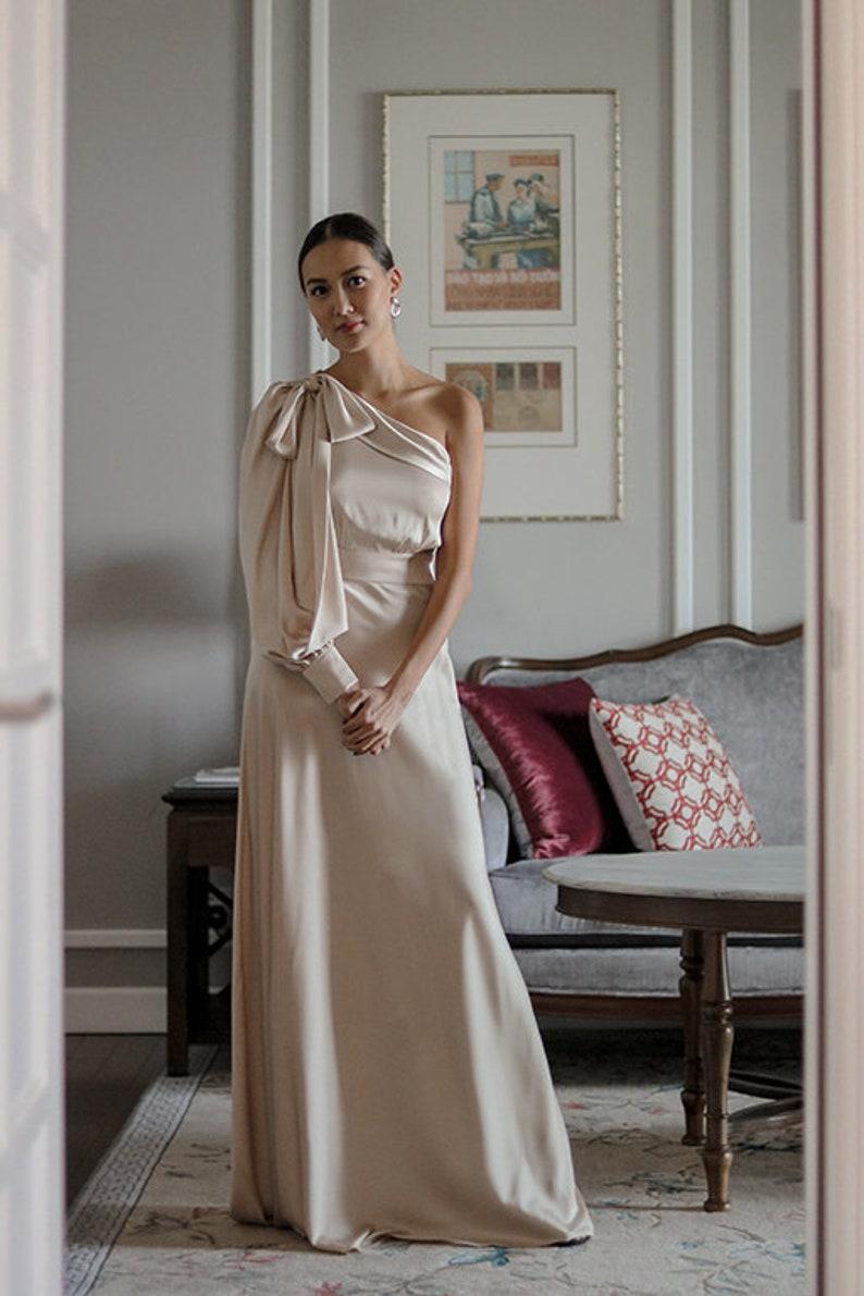 Silk Dress ATHENA DRESS image 3
