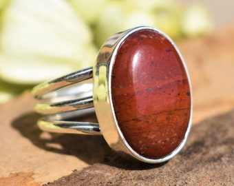 Bloodstone ring | Etsy