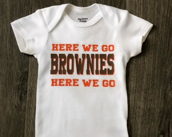 new product 27fed 94ffa Cleveland browns baby | Etsy