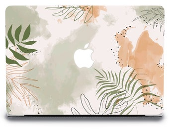Modern Abstract Pastel Art Painting Macbook Hard Case for Macbook Air 1113 Pro 131516 2008-2020 Custom Personalized Macbook Cover
