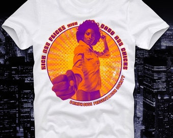 d4986ffe T-Shirt Foxy Brown Pam Grier Coffy Cult Movie Retro Vintage Russ Meyer  Sexploitatioin B-Movie Exploitation
