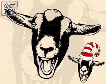 Download Goat Svg File Etsy