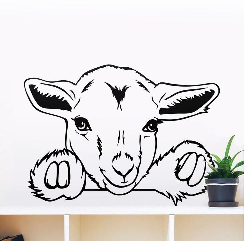 Download Pygmy goat kid svg files for cricut pet svg cute animal   Etsy
