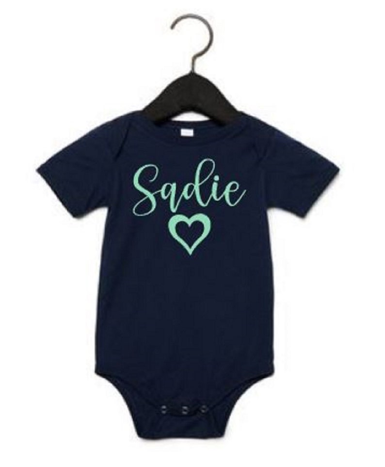 Baby Girl Personalized Gift Baby Girl Gift Personalized Infant Bodysuit