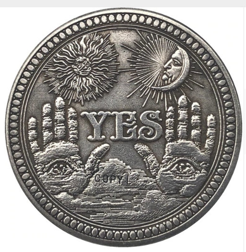 angel yes Hobo Nickel Coin commemorative #40