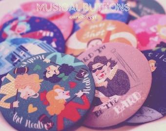 Musical Theme Button 【Vol.1】