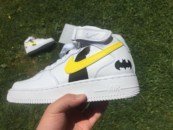 Custom Sneakers Nike Air Force 1 Batman