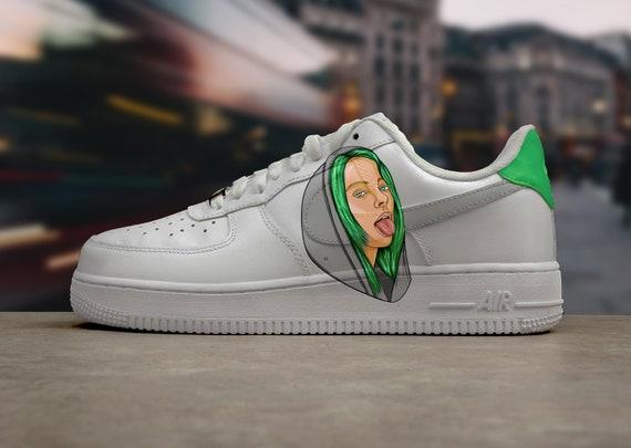 Nike Air Force 1 Billie Eilish Green
