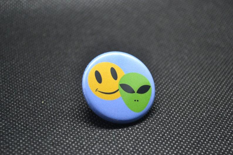 millennial pin 90s kid button smiley face button alien button alien smiley face inflatable chair 90s button millennial button