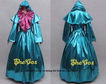 Cinderella Fairy Godmother Costume Cosplay adult dress
