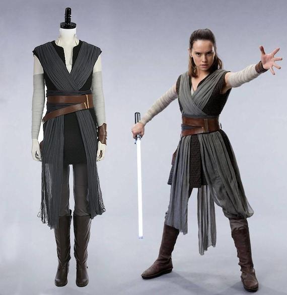 Star Wars 9 The Rise Of Skywalker Rey Costume Rey Episode Ix Etsy
